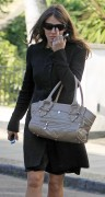 Elizabeth Hurley - Out and about in London - 10/12/10