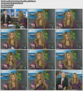 Jillian Barberie Reynolds | Good Day LA | Oct 20, 2010 | Cleavage