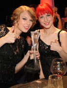 "Taylor Swift & Hayley Williams + Hillary Scott @ ""CMT Artists Of The Year"" Liberty Hall, Franklin Tennessee -November 30th 2010- (HQ X12 &9) +Updated+"