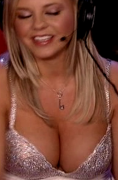 Bree Olsen's MASSIVE cleavage ... from HOWARD TV (27 non-HD caps)