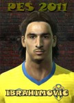 pes 2011 Zlatan Ibrahimović Face by jorgze