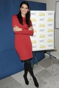 Angie Harmon - Promoting Children's Advil in New York, December 6, 2010