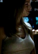 Rachel Nichols busty in tank top ... from 2007's RESURRECTING THE CHAMP (1 non-HD cap)