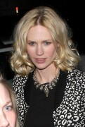 Джэньюэри Джонс, фото 779. Celebrates Her 33rd Birthday at Fogo De Chao in Los Angeles,California - 05.01.2012 / Congratz January Jones, foto 779,