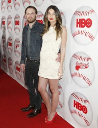 Лили Олдридж, фото 354. Lily Aldridge - HBO's 'Eastbound & Down' Season 3 Premiere in LA (Feb. 9), foto 354