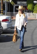 Джули Бенц, фото 1142. Julie Benz leaving Mauros Cafe in Melrose - March 3, 2012, foto 1142