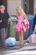 Ashley Tisdale- June 8, 2010- On The Set of Sharpay's adventures