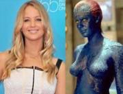 Jennifer Lawrence is Mystique in X-Men First Class
