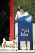 Сельма Блэйр, фото 12. Selma Blair 'Walking her Dog in L.A.' August, photo 12