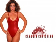 Claudia Christian : Classic Swimsuit Wallpapers x 3